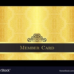 Victorious Club Gold Membership Card